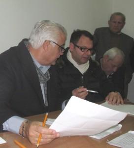 GRAZZANISE Il seggio delle precedenti elezioni al Centro degli Anziani