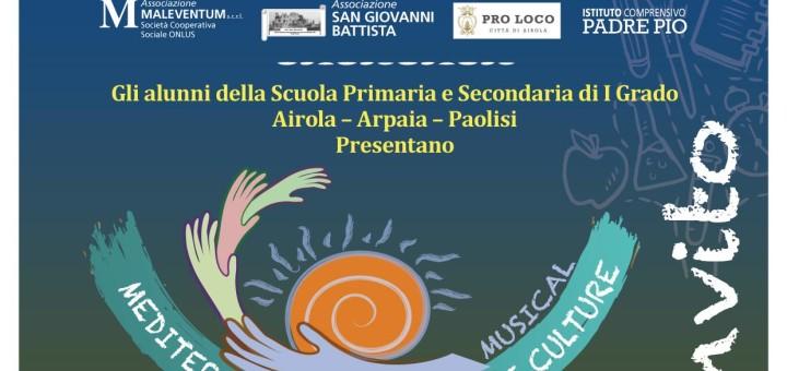 Mediterraneo mare di mille culture invito scuola viva Airola
