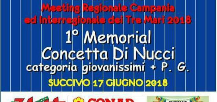 Memorial Concetta Di Nucci 17062018 locandina