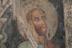 Viterbo affresco della cattedrale