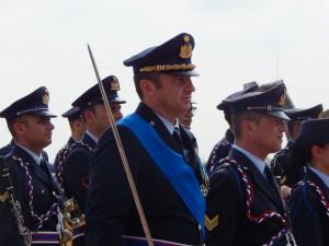 GRAZZANISE Il Col. Pil. Nicola Lucivèro subito dopo l'assunzione del Comando del 9° Stormo 'F.Baracca'