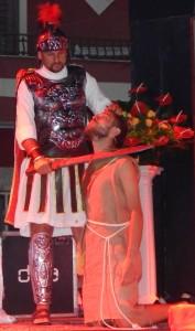 GRAZZANISE L'atroce istante della decapitazione di Giovanni il Battista 290818