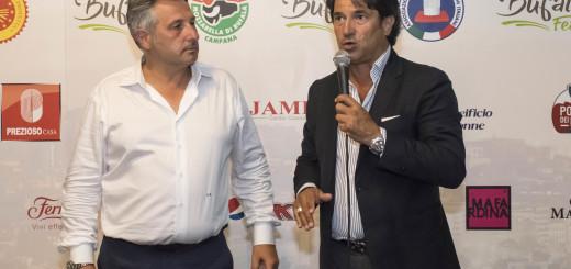 Gli Organizzatori di Bufala Fest Antonio Rea e Francesco Sorrentino