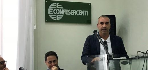 Il presidente dell'Associazione Raffaele Veneziano