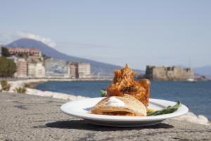 Un piatto del Bufala Fest (1)