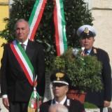 GRAZZANISE Il vigile urbano Raffaele Petrillo alla Giornata delle FF.AA. e dell'Unità Nazionale 2015