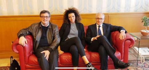 Il presidente Turco, la palleggiatrice Dalia e il sindaco Marino