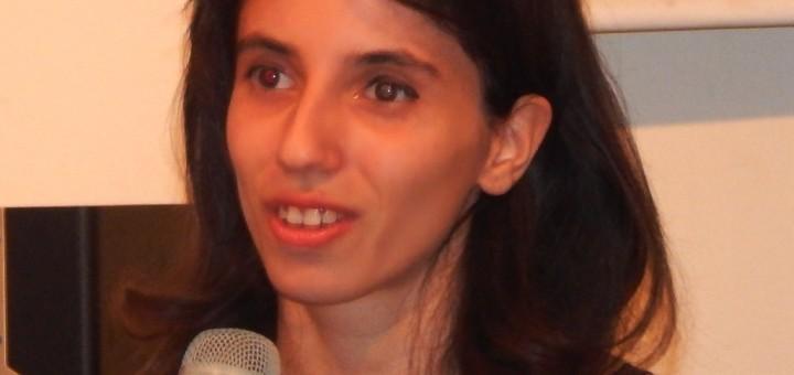 La scrittrice-soprano Adriana Caprio