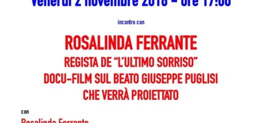 Locandina Rosalinda Ferrante 2nov2018