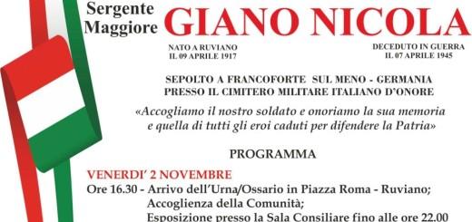 MANIFESTO RUVIANO 4 NOVEMBRE