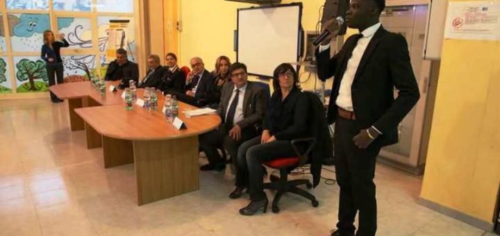 la presentazione del progetto Accolti e attivi