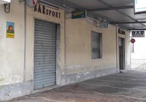 GRAZZANISE Il Bar Sport chiuso per sempre - DIC 2018