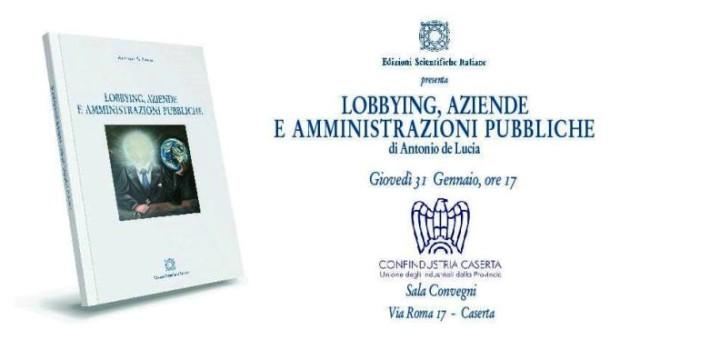 Locandina LOBBYING, AZIENDE E AMMINISTRAZIONI PUBBLICHE .