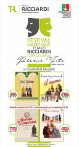 CAPUA Ricciardi La locandina del Festival del Teatro