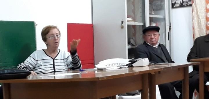 GRAZZANISE Al centro la Cardaropoli durante un incontro al CPAP - 161118