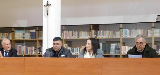 GRAZZANISE L'attuale tavolo di Presidenza del Consiglio comunale - 090119