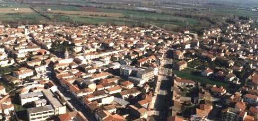 GRAZZANISE Veduta aerea del centro urbano (1)