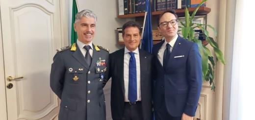 Gen. Pomponio, Pres. Moretta, Pres. Schiavo 2