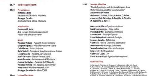 PROGRAMMA CONGRESSO RETE ONCOLOGICA IN TERRA DI LAVORO (1)