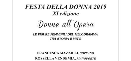 Donne all'Opera 17 marzo 2019