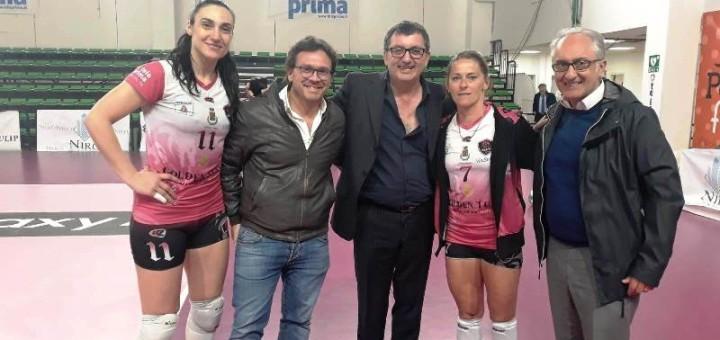 Il presidente Turco con il sindaco Marino e l'assessore Emiliano Casale
