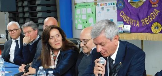 CASERTA Il saluto introduttivo del presidente dei Lions 'Caserta Reggia', Roberto De Micco