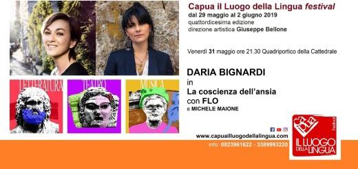 Daria Bignardi a Capua il Luogo della Lingua Festival