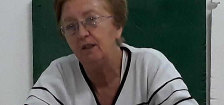 Giovanna Cardaropoli - già caposala ospedaliera - ad un precedente Incontro 161118
