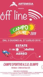 Locandina Campo Solare 2019