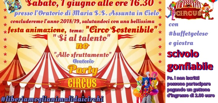 Oratorio arnone circus