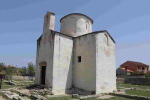 la cattedrale più piccola del mondo di Pag