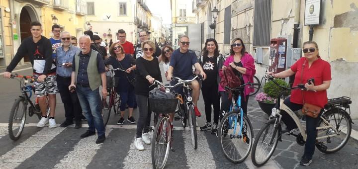 scuola in bici
