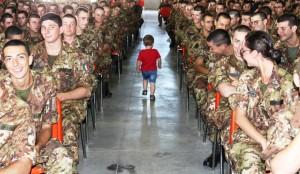 3 - Un bambino talassemico tra i Volontari dell'Esercito Italiano (1)