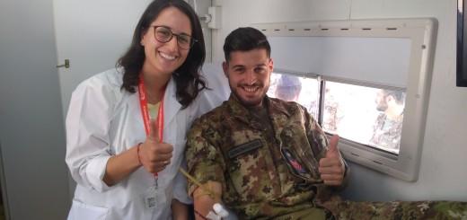Donazione di sangue alla Scuola Specialisti dell'Aeronautica Militare (1)
