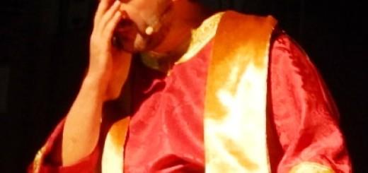 GRAZZANISE Il parroco Don Giovanni Corcione nella mirabile interpretazione del 2018