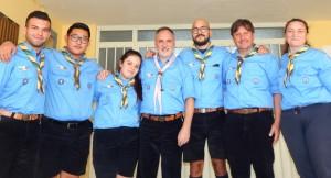 Capi e scout del Gruppo Agesci Grazzanise 1