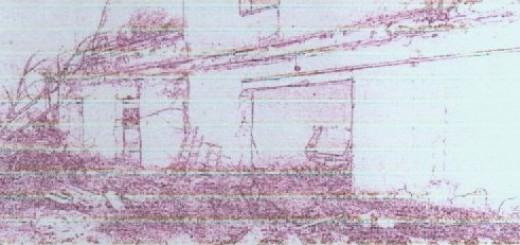 GRAZZANISE Tenuta Schiavone Una stilizzata immagine dello scempio fissata sulla copertina del progetto di riqualificazione