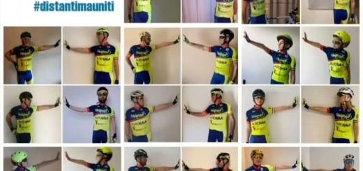 Ciclo Team Tanagro #distantimauniti