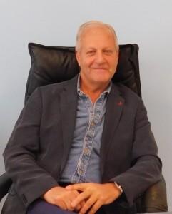 GRAZZANISE Il commissario Aldo Aldi nel suo nuovo ufficio