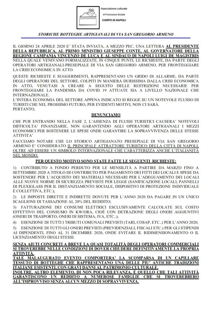 manifesto iniziativa del 4 maggio in via san gregorio armeno_001
