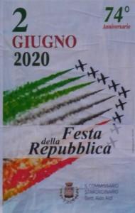 GRAZZANISE 2 GIUGNO 2020 Manifesto rievocativo Festa della Repubblica