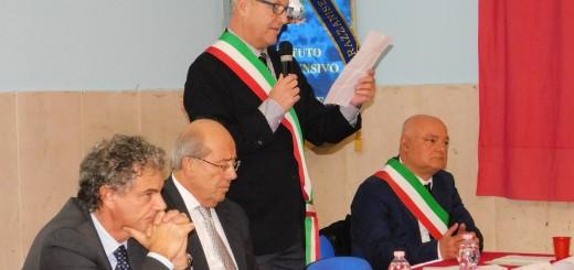 GRAZZANISE Il commissario prefettizio Aldo Aldi al microfono 131219